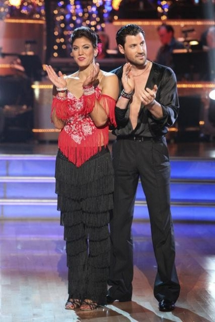 Hope Solo and Maksim Chmerkovskiy on &#39;Dancing with the Stars,&#39; Nov. 8, 2011