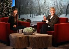 "Paris Jackson chats with Ellen DeGeneres in an interview set to air on ""The Ellen DeGeneres Show"" on December 15, 2011 -- The Ellen DeGeneres Show"