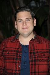 Jonah Hill arrives at Golden Globe and SAG nominee Jonah Hill's private celebrity home gourmet pizza party hosted by Renee Taylor and Joe Bologna, Beverly Hills, on December 29, 2011 -- Getty Premium