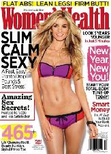 Marisa Miller on cover of Women&#39;s Health (Jan/Feb 2012) -- Women&#39;s Health