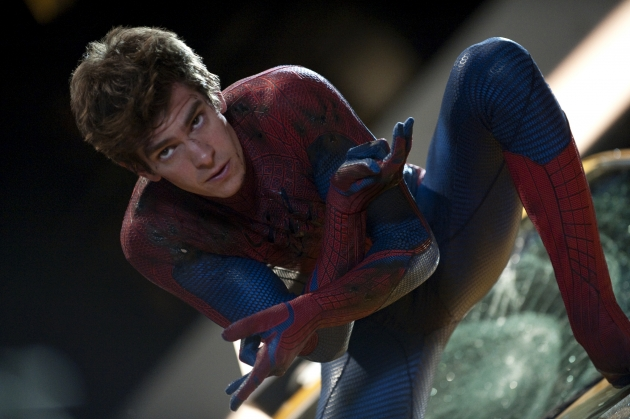 Andrew Garfield stars as Spider-Man in Columbia Pictures' 'The Amazing Spider-Man'  -- Sony Pictures