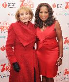 Barbara Walters and Star Jones attend the American Heart Association&#39;s 2012 New York City Go Red for Women luncheon at the Hilton New York on February 28, 2012 -- Getty Images