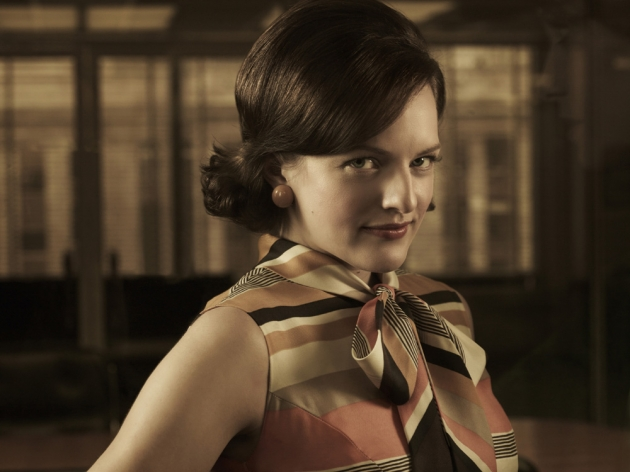 Elizabeth Moss as Peggy in &#39;Mad Men&#39; Season 5 -- AMC