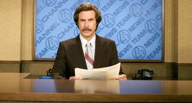 Will Ferrell Confirms 'Anchorman' Sequel While Dressed As Ron ...