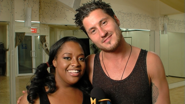 Sherri Shepherd & Val Chmerkovskiy Talk 'Dancing' The Tango  -- Access Hollywood