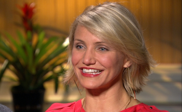 Cameron Diaz chats with Access Hollywood at the &#39;What To Expect When You&#39;re Expecting&#39; junket in Los Angeles on May 4, 2012 -- Access Hollywood