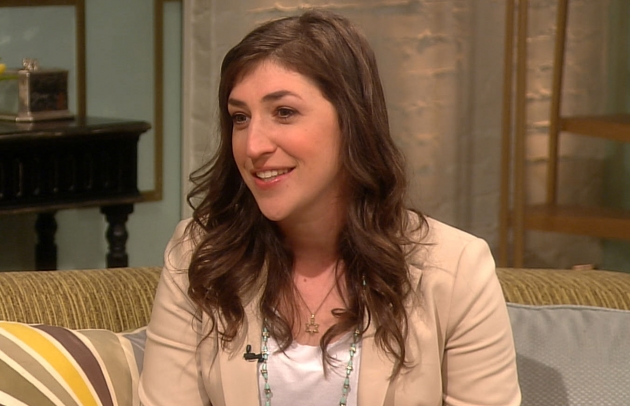 Mayim Bialik stops by Access Hollywood Live on May 21, 2012 -- Access Hollywood