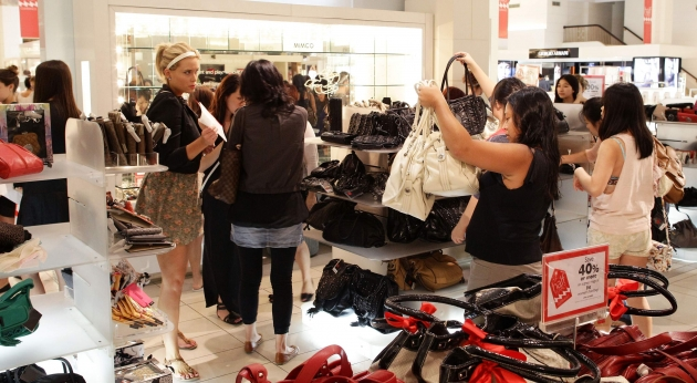 A smart shopper is always on the lookout for a great sale! -- Getty Images