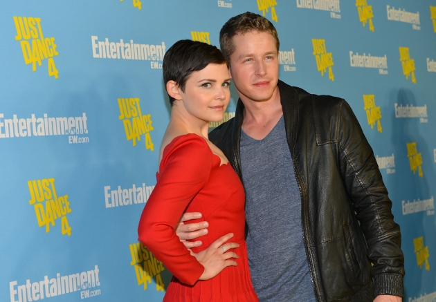Ginnifer Goodwin and Josh Dallas attend Entertainment Weekly&#39;s 6th Annual Comic-Con Celebration in San Diego on July 14, 2012 -- Getty Images