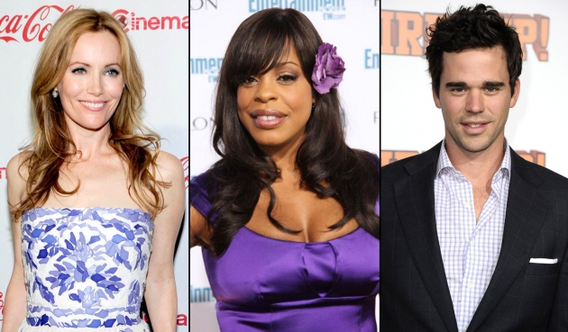 Leslie Mann/Niecy Nash/David Walton -- Getty Images