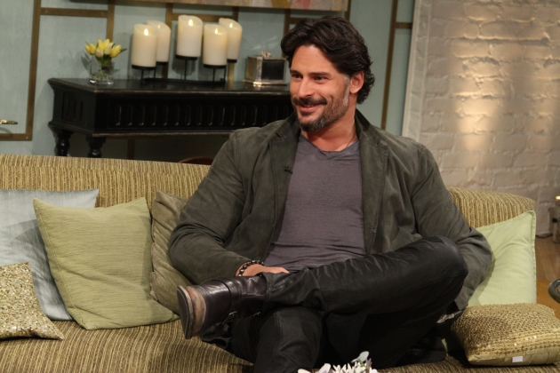 Joe Manganiello visits Access Hollywood Live  on July 30, 2012 -- Access Hollywood