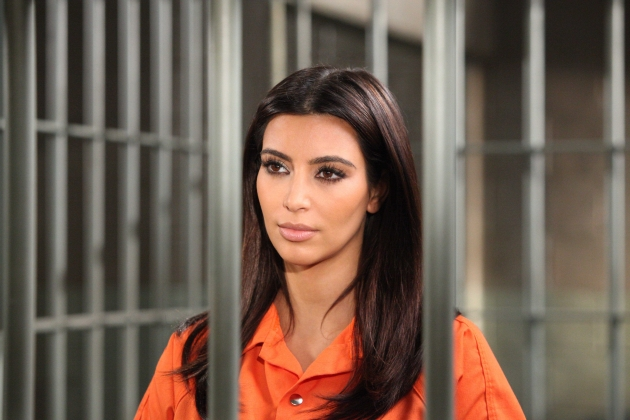 Kim Kardashian on the August 26, 2012 episode of 'Drop Dead Diva' on Lifetime -- Lifetime