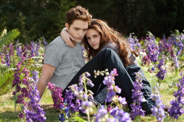 Robert Pattinson and Kristen Stewart are seen in a scene from &#39;The Twilight Saga: Breaking Dawn -- Part 2&#39; -- Summit Entertainment