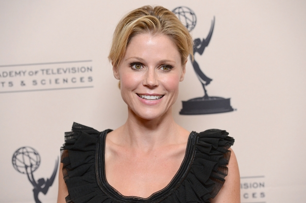 Julie Bowen attends The Academy Of Television Arts & Sciences' performers peer group cocktail reception held at the Sheraton Hotel in Universal City, Calif. on August 20, 2012 -- Getty Images