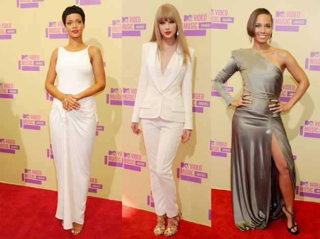 Rihanna, Taylor Swift, Alicia Keys -- Getty Images