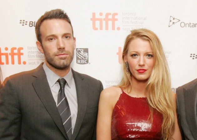 Ben Affleck and Blake Lively at Warner Bros. premiere of &#39;The Town&#39; at the 2010 Toronto International Film Festival at Roy Thomson Hall on September 11, 2010  -- Getty Premium