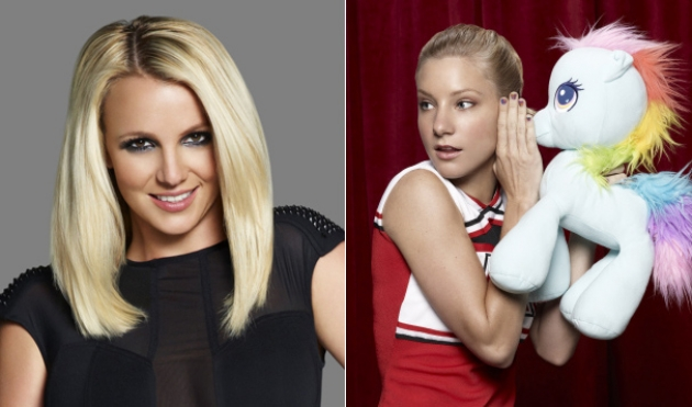 Britney Spears, Heather Morris as Brittany Pierce on &#39;Glee&#39; -- FOX