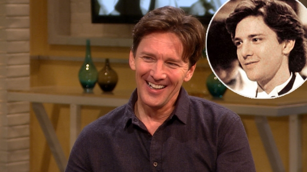 Andrew McCarthy stops by Access Hollywood Live on October 1, 2012 / inset: Andrew McCarthy  in 'Pretty in Pink'   -- Access Hollywood