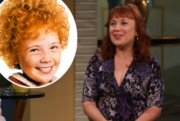 &#39;Annie&#39; star Aileen Quinn stops by Access Hollywood Live on October 2, 2012  -- Access Hollywood