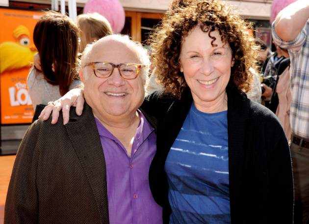 Danny DeVito and Rhea Perlman arrive at the premiere of &#39;Dr. Seuss&#39; The Lorax&#39; at Citywalk in Universal City, Calif. on February 19, 2012 -- Getty Images