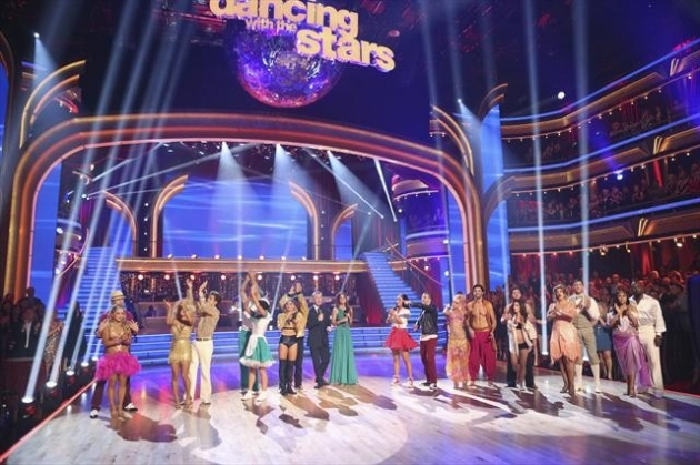 The cast during Week 4 of &#39;Dancing with the Stars: All-Stars,&#39; Oct. 16, 2012 -- ABC