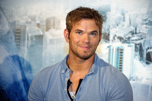 Kellan Lutz attends &#39;Bait 3D&#39; press conference in Shanghai, China on October 11, 2012 -- Getty Premium