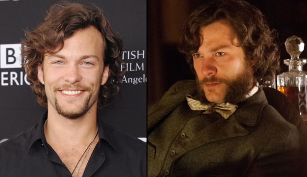 Kyle Schmid as Robert Moorehouse in BBC America's 'Copper' -- Getty Images