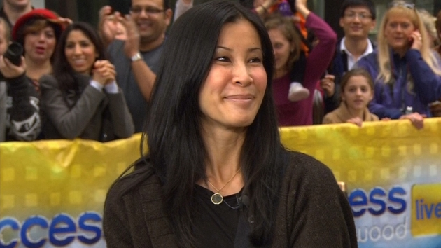 Lisa Ling visits Access Hollywood Live in New York City on October 26, 2012 -- Access Hollywood