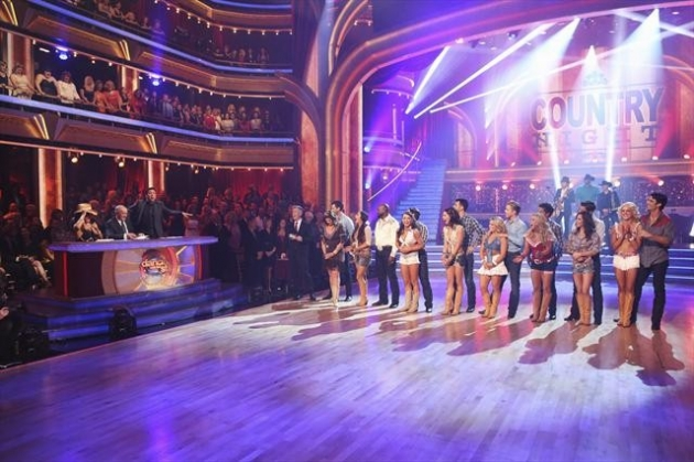 The cast of Week 6 of &#39;Dancing with the Stars: All-Stars&#39; October 2012 -- ABC