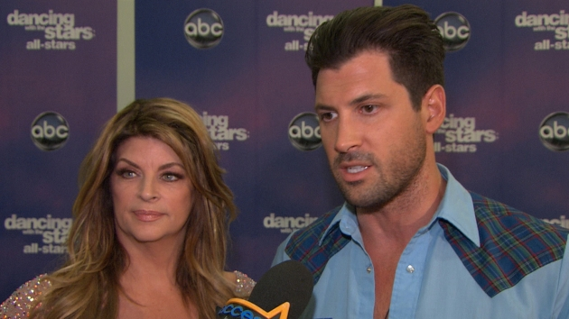 Kirstie Alley & Maksim Chmerkovskiy Grateful To Fans For Voting -- Access Hollywood