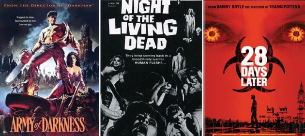 MovieMantz Top 10 Zombie Movies --