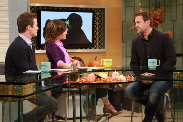 Grant Bowler stops by Access Hollywood Live on November 21, 2012 -- Access Hollywood
