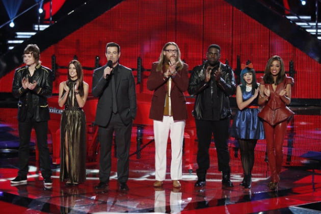 Contestants on NBC&#39;s &#39;The Voice&#39; -- NBC