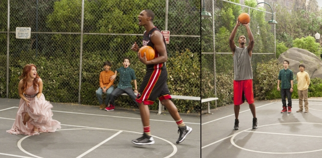 Chris Bosh guest stars on The Disney Channel&#39;s &#39;Jessie&#39; on the episode airing January 18, 2013 -- Disney Channel