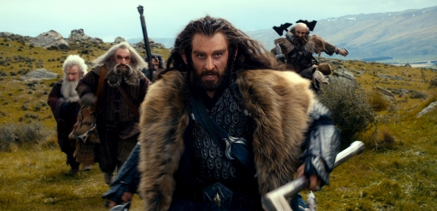 Thorin Oakenshield, played by Richard Armitage in 'The Hobbit' -- New Line Cinema