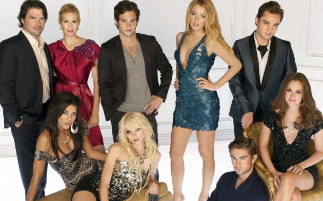 The cast of The CW&#39;s &#39;Gossip Girl&#39; -- The CW