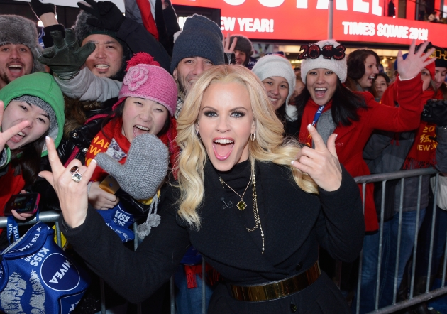 Jenny McCarthy hosts Dick Clark&#39;s New Year&#39;s Rockin&#39; Eve with Ryan Seacrest 2013 in Times Square on December 31, 2012 in New York City -- Getty Images