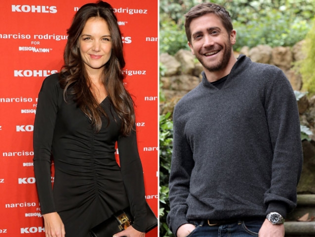 Katie Holmes / Jake Gyllenhaal  -- Getty Premium