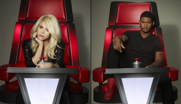Shakira, Usher -- NBC