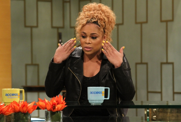 T-Boz stops by Access Hollywood Live on January 7, 2013 -- Access Hollywood
