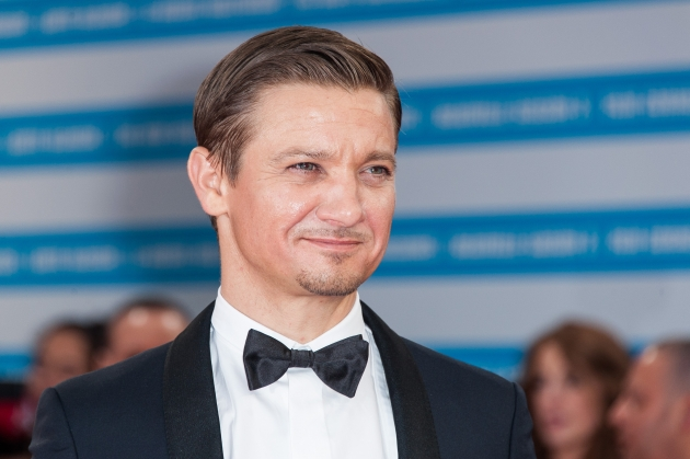 Jeremy Renner arrives for the premiere of the film &#39;The Bourne Legacy&#39; during 38th Deauville American Film Festival on September 1, 2012 in Deauville, France -- Getty Images