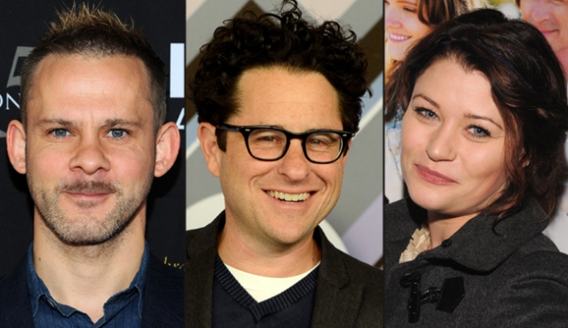 Dominic Monaghan, J.J. Abrams, Emilie de Ravin -- Getty Images