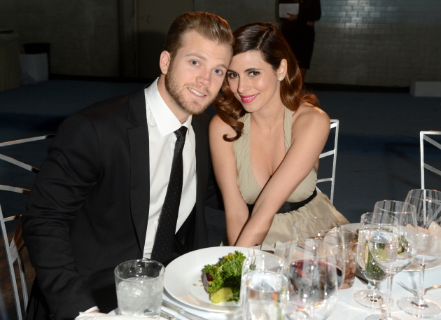 Cutter Dykstra and Jamie-Lynn Sigler attend The Art of Elysium&#39;s 6th Annual HEAVEN Gala presented by Audi at 2nd Street Tunnel, Los Angeles, on January 12, 2013