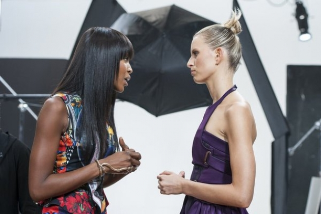 Naomi Campbell and Karolina Kurkova on Oxygen&#39;s &#39;The Face&#39; -- Oxygen