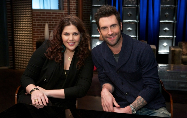 Hillary Scott and Adam Levine, &#39;The Voice&#39; --