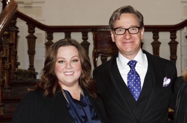 Melissa McCarthy and Paul Feig attend the photocall for &#39;Bridesmaids&#39; at Amstel Hotel on June 6, 2011 in Amsterdam, Netherlands -- Getty Images