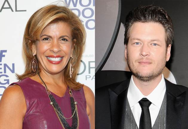 Hoda Kotb, Blake Shelton -- Getty Images