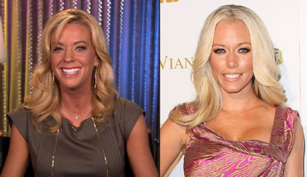 Kate Gosselin and Kendra Wilkinson