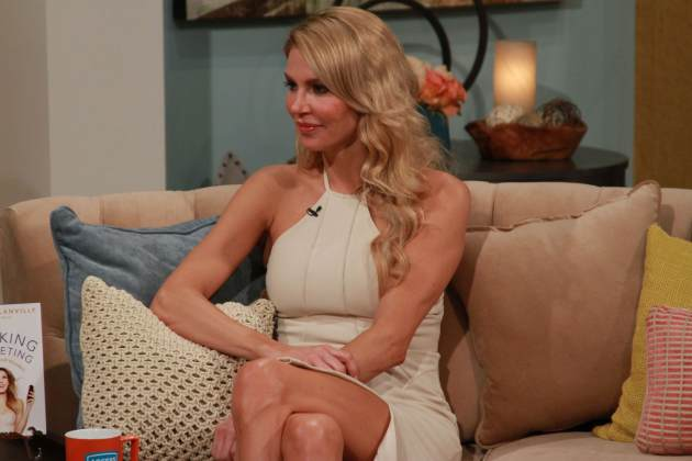Brandi Glanville stops by Access Hollywood Live on February 18, 2013 -- Access Hollywood
