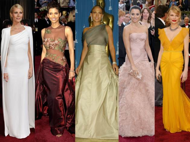 Glam Slam Oscars - Gwyneth Paltrow, Halle Berry, Jennifer Lopez, Penelope Cruz, Michelle Williams -- Getty Images
